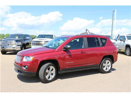2013 Jeep Compass Sport/North (Stk: LT005A) in Rocky Mountain House - Image 1 of 30