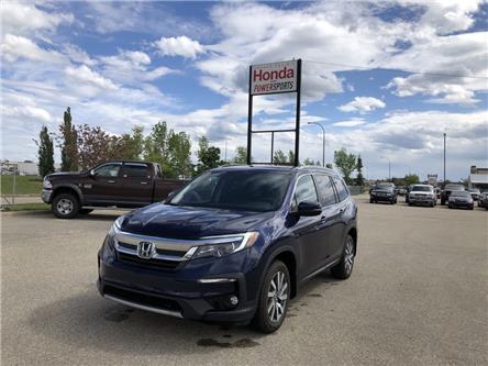 2019 Honda Pilot EX-L Navi (Stk: H16-4336A) in Grande Prairie - Image 1 of 23