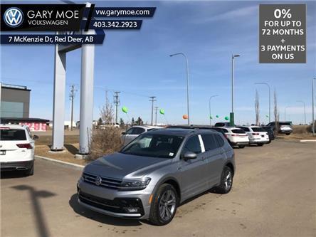 2021 Volkswagen Tiguan Highline 4MOTION (Stk: 1TG3275) in Red Deer County - Image 1 of 9