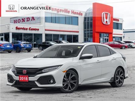 2018 Honda Civic Sport Touring (Stk: U3563B) in Orangeville - Image 1 of 24