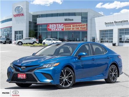 2018 Toyota Camry SE (Stk: 046798A) in Milton - Image 1 of 22