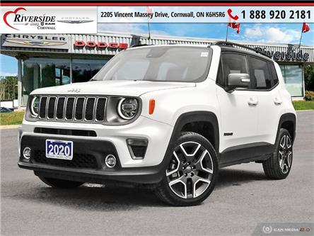2020 Jeep Renegade Limited (Stk: W05005) in Cornwall - Image 1 of 27