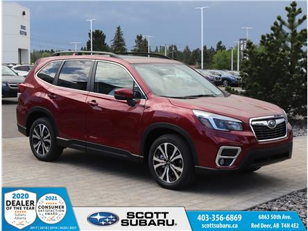 2021 Subaru Forester Limited (Stk: 525761) in Red Deer - Image 1 of 36
