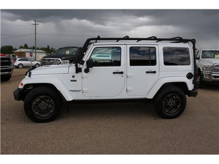 2016 Jeep Wrangler Unlimited Sahara (Stk: MP090) in Rocky Mountain House - Image 1 of 15