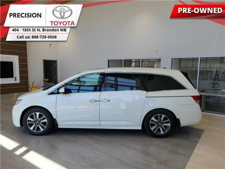 2015 Honda Odyssey TOURING (Stk: 212841) in Brandon - Image 1 of 30