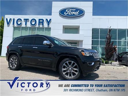 2018 Jeep Grand Cherokee Overland (Stk: V3055) in Chatham - Image 1 of 30