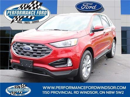 2021 Ford Edge Titanium (Stk: EG29002) in Windsor - Image 1 of 16