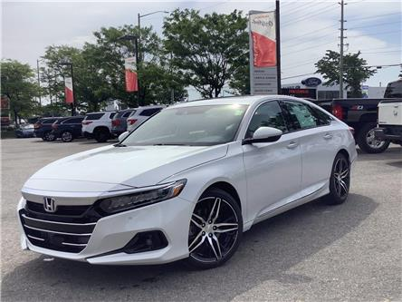 2021 Honda Accord Touring 1.5T (Stk: 11-21447) in Barrie - Image 1 of 28
