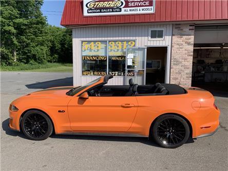 2020 Ford Mustang GT Premium (Stk: -) in Morrisburg - Image 1 of 17