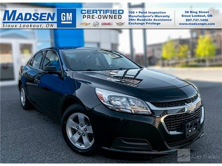 2015 Chevrolet Malibu LS (Stk: A21199) in Sioux Lookout - Image 1 of 11