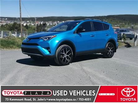 2018 Toyota RAV4 Hybrid SE (Stk: LP8334) in ST. JOHN'S - Image 1 of 17