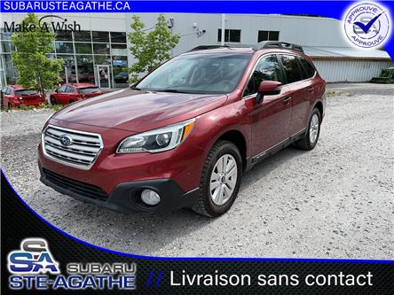 2017 Subaru Outback 2.5i Touring (Stk: A3343) in Sainte-Agathe-des-Monts - Image 1 of 20