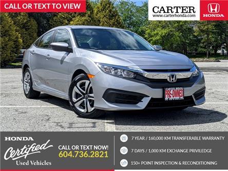 2017 Honda Civic LX (Stk: 3M28441) in Vancouver - Image 1 of 22