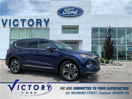 2020 Hyundai Santa Fe  (Stk: V1134A) in Chatham - Image 1 of 30