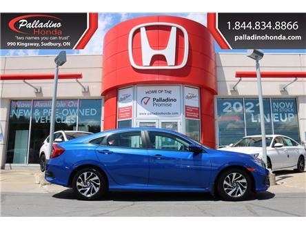 2016 Honda Civic EX (Stk: U10033) in Greater Sudbury - Image 1 of 32