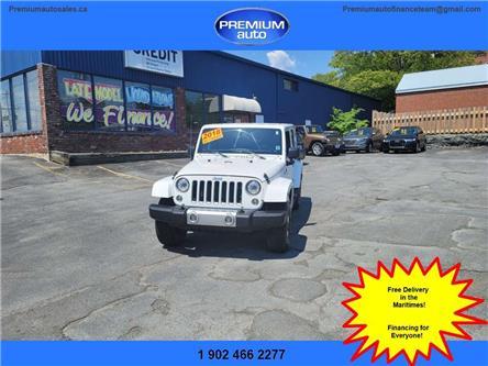 2018 Jeep Wrangler JK Unlimited Sahara (Stk: 826894) in Dartmouth - Image 1 of 19
