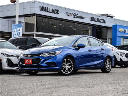 2018 Chevrolet Cruze 4dr Sdn 1.4L LT w-1SD, REAR CAMERA, HEATED SEATS (Stk: PL5418) in Milton - Image 1 of 24