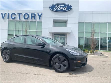 2021 Tesla Model 3 Standard Range (Stk: V0487) in Chatham - Image 1 of 30