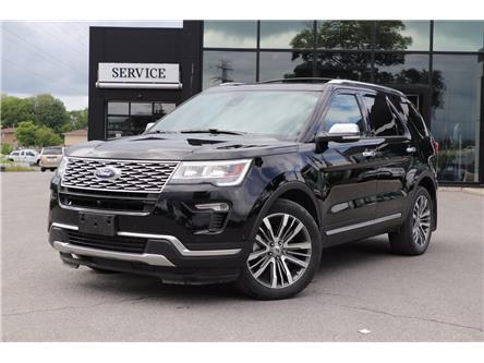 2018 Ford Explorer Platinum (Stk: 4065A) in Ottawa - Image 1 of 27