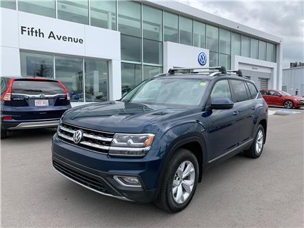2018 Volkswagen Atlas 3.6 FSI Highline (Stk: 21254A) in Calgary - Image 1 of 20