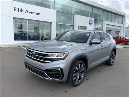 2021 Volkswagen Atlas Cross Sport 3.6 FSI Execline (Stk: 21266) in Calgary - Image 1 of 19