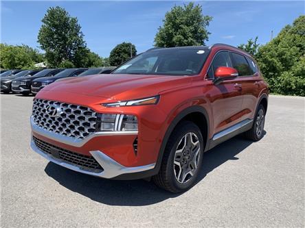 2021 Hyundai Santa Fe HEV Luxury (Stk: S20543) in Ottawa - Image 1 of 21