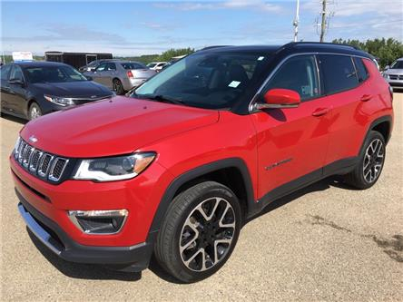 2018 Jeep Compass Limited (Stk: 21R19755A) in Devon - Image 1 of 11