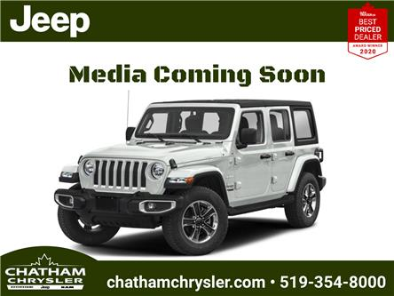2021 Jeep Wrangler Unlimited Sahara (Stk: ) in Chatham - Image 1 of 10