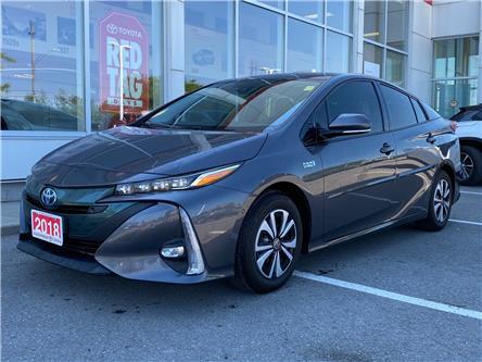 2018 Toyota Prius Prime Upgrade (Stk: TX096B) in Cobourg - Image 1 of 26