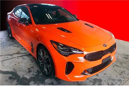 2021 Kia Stinger GT Limited - Neon Orange (Stk: K21093) in Listowel - Image 1 of 20
