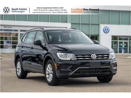 2020 Volkswagen Tiguan Trendline (Stk: U6722) in Calgary - Image 1 of 35