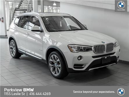 2016 BMW X3 xDrive28i (Stk: PP9903) in Toronto - Image 1 of 22