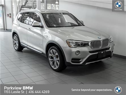 2017 BMW X3 xDrive28i (Stk: T303513A) in Toronto - Image 1 of 24