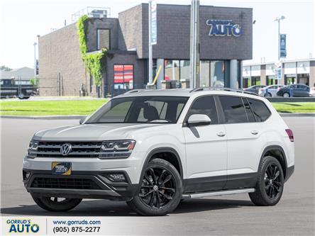 2018 Volkswagen Atlas 2.0 TSI Comfortline (Stk: 522042) in Milton - Image 1 of 20