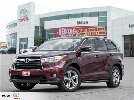 2015 Toyota Highlander Limited (Stk: 214584) in Milton - Image 1 of 28