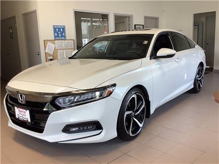 2018 Honda Accord Sport (Stk: 11-U18796) in Barrie - Image 1 of 26