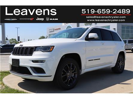 2021 Jeep Grand Cherokee Overland (Stk: LC21280) in London - Image 1 of 25