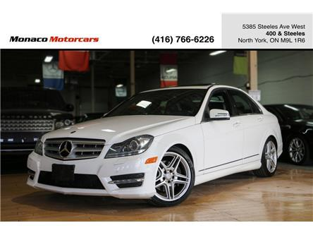 2013 Mercedes-Benz C-Class Base (Stk: 4168-26) in North York - Image 1 of 30