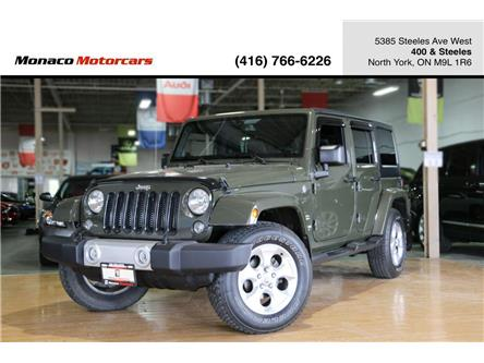 2015 Jeep Wrangler Unlimited Sahara (Stk: 4242-08) in North York - Image 1 of 30
