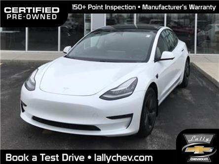 2020 Tesla Model 3 Standard Range Plus | Auto Pilot Equi | RWD (Stk: R00584) in Tilbury - Image 1 of 15