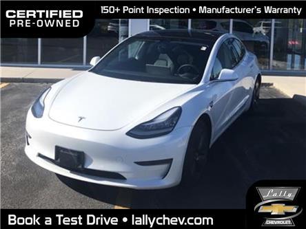 2020 Tesla Model 3 Standard Range Plus | Auto Pilot Equi | RWD (Stk: R00586) in Tilbury - Image 1 of 16