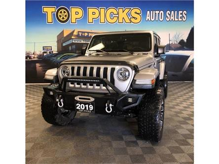 2019 Jeep Wrangler Unlimited Sahara (Stk: 641028) in NORTH BAY - Image 1 of 30