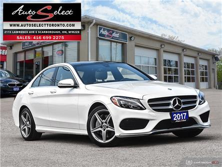 2017 Mercedes-Benz C-Class 4Matic (Stk: 17WZ2521) in Scarborough - Image 1 of 28