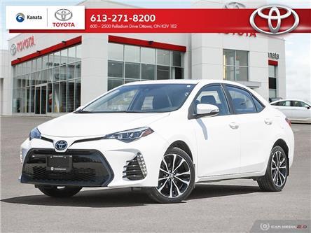 2019 Toyota Corolla SE (Stk: B3002) in Ottawa - Image 1 of 29