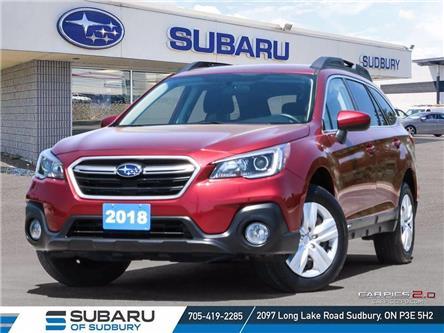 2018 Subaru Outback 2.5i (Stk: US1243) in Sudbury - Image 1 of 24