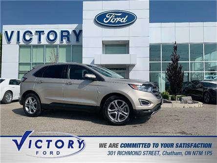 2017 Ford Edge Titanium (Stk: V20276A) in Chatham - Image 1 of 29