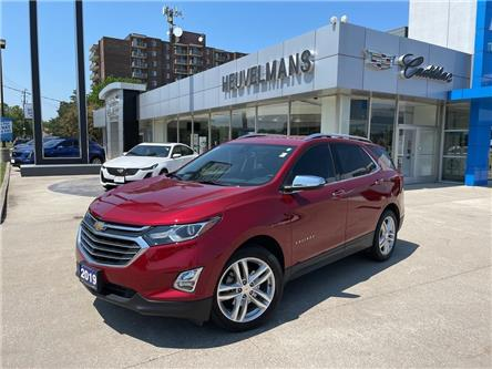 2019 Chevrolet Equinox Premier (Stk: 21088A) in Chatham - Image 1 of 21