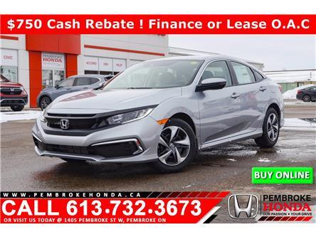 2021 Honda Civic LX (Stk: 21080) in Pembroke - Image 1 of 25