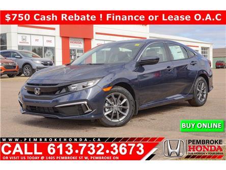 2021 Honda Civic EX (Stk: 21092) in Pembroke - Image 1 of 30