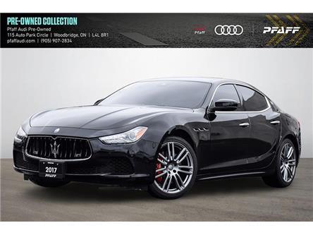 2017 Maserati Ghibli S Q4 (Stk: T19282A) in Woodbridge - Image 1 of 24
